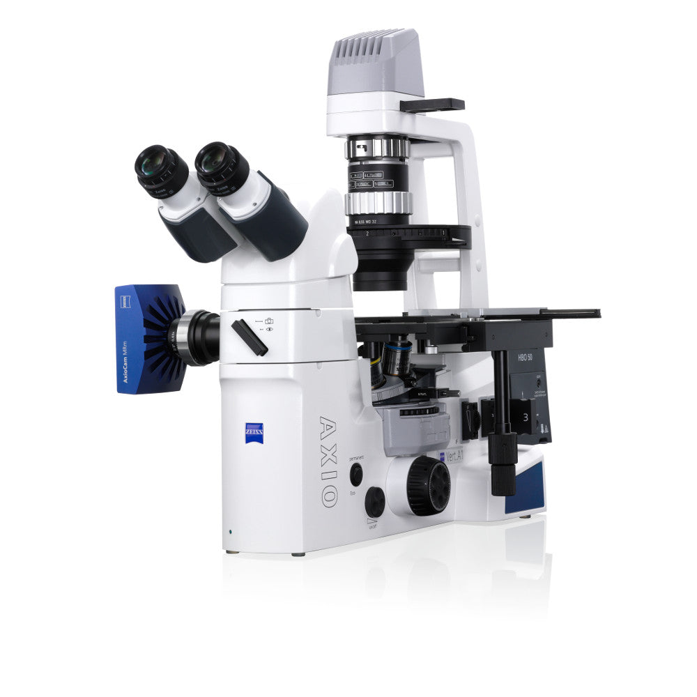 Axio Vert.A1 Inverted Microscope with Phase Contrast and PlasDIC