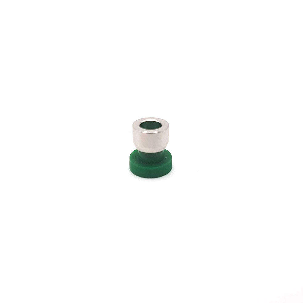 "Flangeless Ferrule 1/4""-28 Flat-Bottom for 1/32"" OD (pack of 10)"