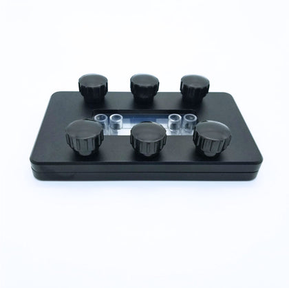 Clamps for modular Microfluidic Chips - Darwin Microfluidics