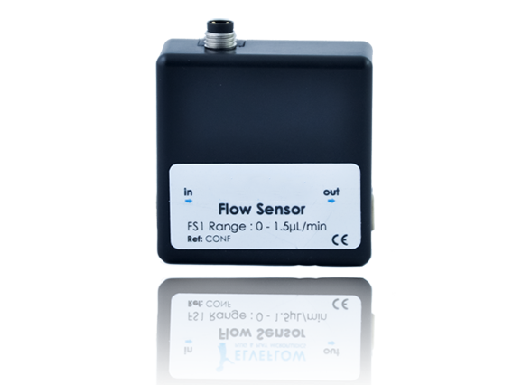 MFS Microfluidic Thermal Flow Sensor