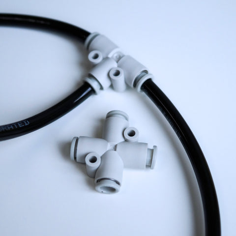 Pneumatic Polyurethane (PU) Flexible Tubing Connection kit