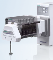 Microfluidic multichannel pump head Rotarus