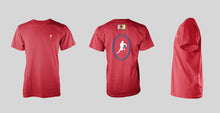 Red Short Sleeve: LIONS Gold, White, Green & Navy Logo T-shirt - Free Shipping to the USA