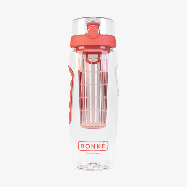 Bonké fruit infuser water bottle - orange
