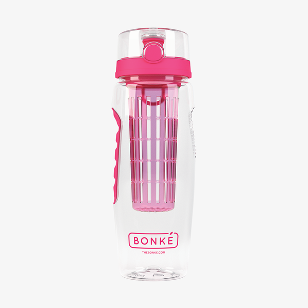 Bonké fruit infuser water bottle - pink