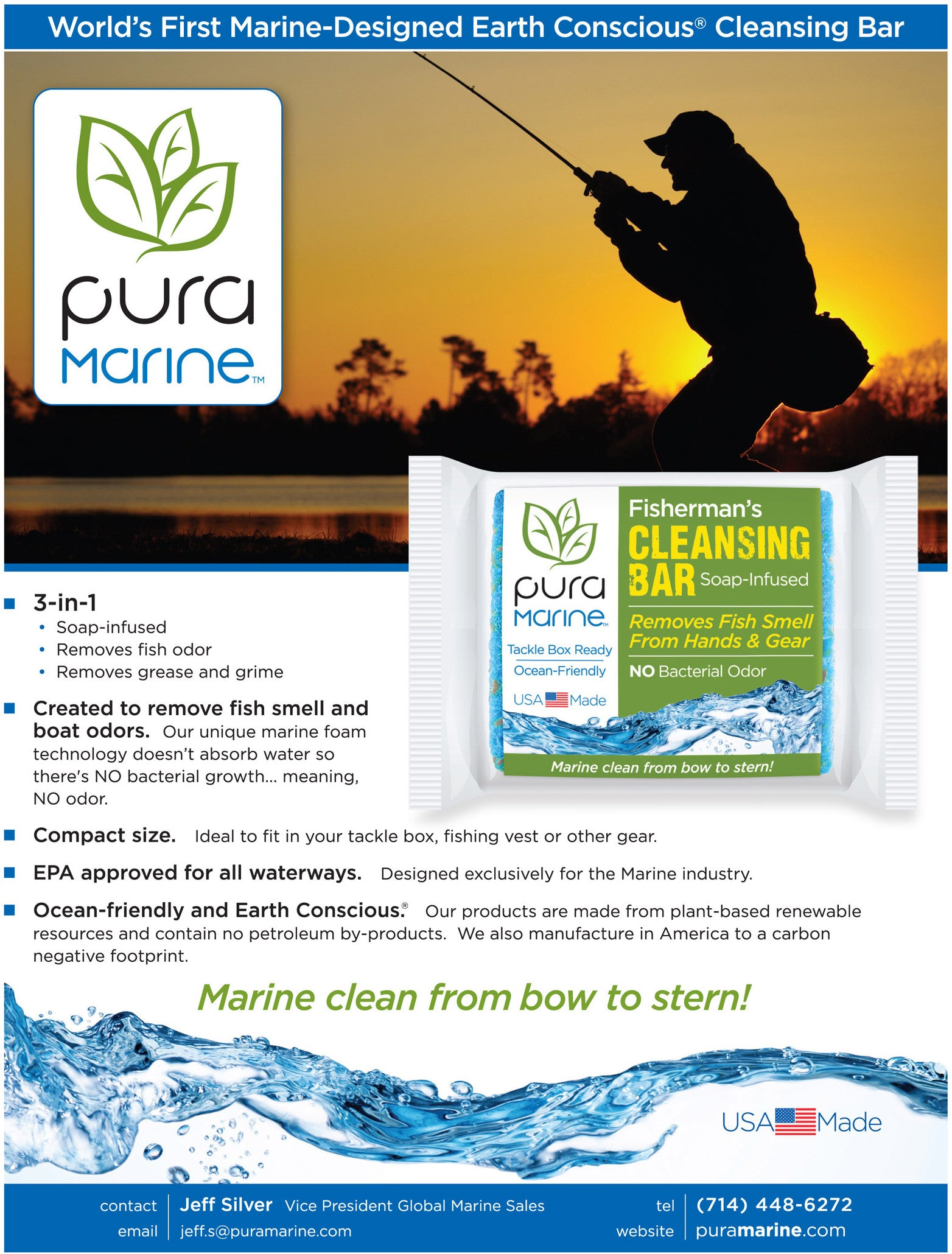 Pura Marine Fisherman's Cleansing Bar