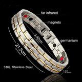 Magnetic Stainless Steel Bracelet - Enticing Aroma...a Woman's  World!