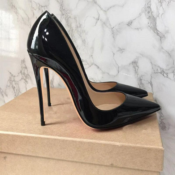 Pointed Toe High Heel Pumps - Enticing Aroma...a Woman's  World!