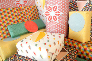 Wrapping Paper Mixed Pack Gift Wrap Vintage Designs