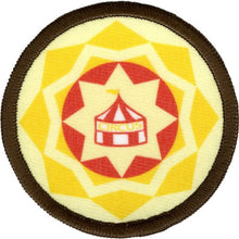 Bright Stem Accessories Sew On Patche / Sew on Badge Circus Design