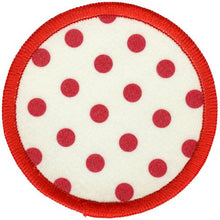 Bright Stem Accessories Sew On Patche / Sew on Badge Polka Dot Design