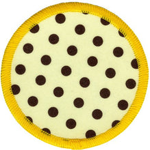 Bright Stem Sew On Patch / Badge Polkadots