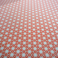 Bright Stem Geometric Wrapping Paper Vintage Inspired Abstract Star Pattern close up