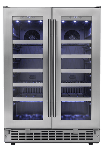 Silhouette Professional French door Wine Cellar