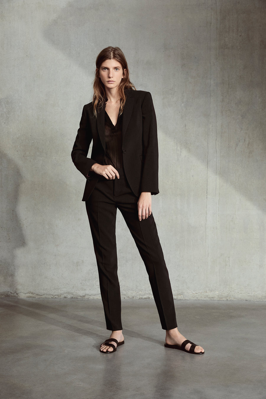 Black Erin Cigarette Trouser