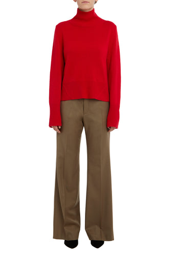 Rosso Kara High Neck Cashemere Sweater