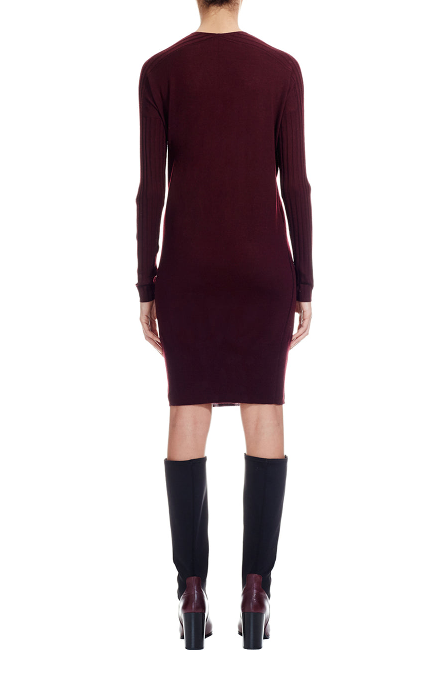 Oxblood The Leyden Dress