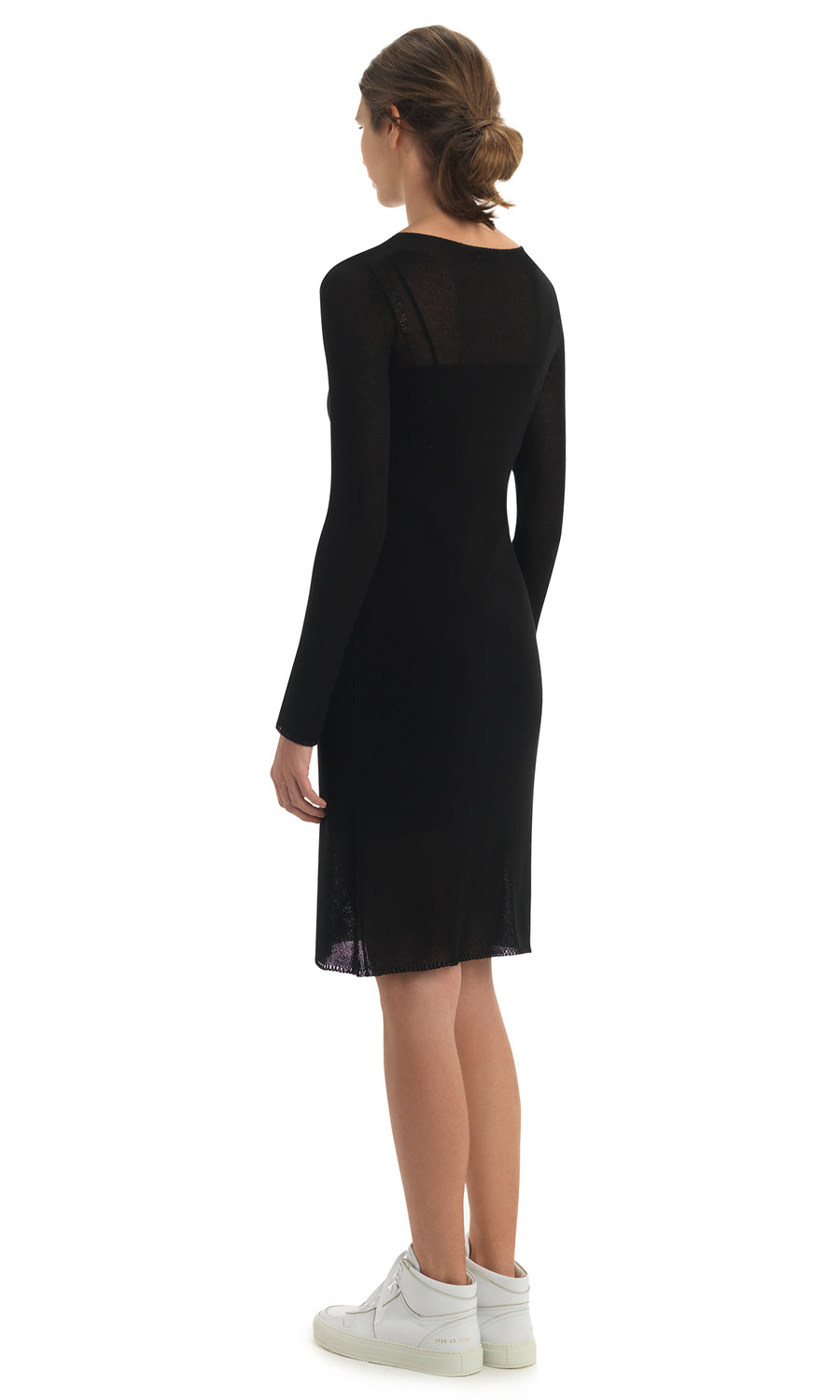 Black SILK JENNEN DRESS