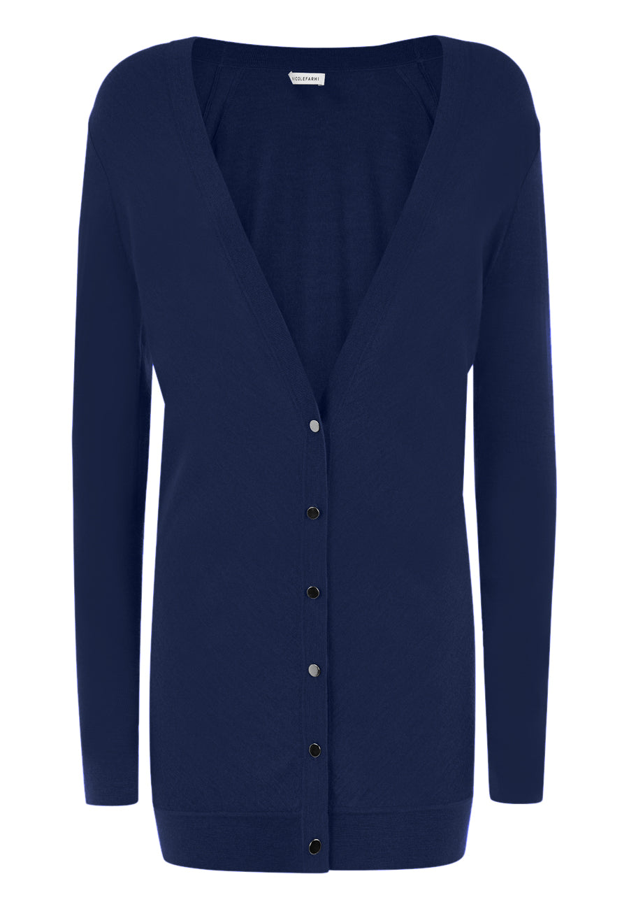 NAVY The Levy Cardigan