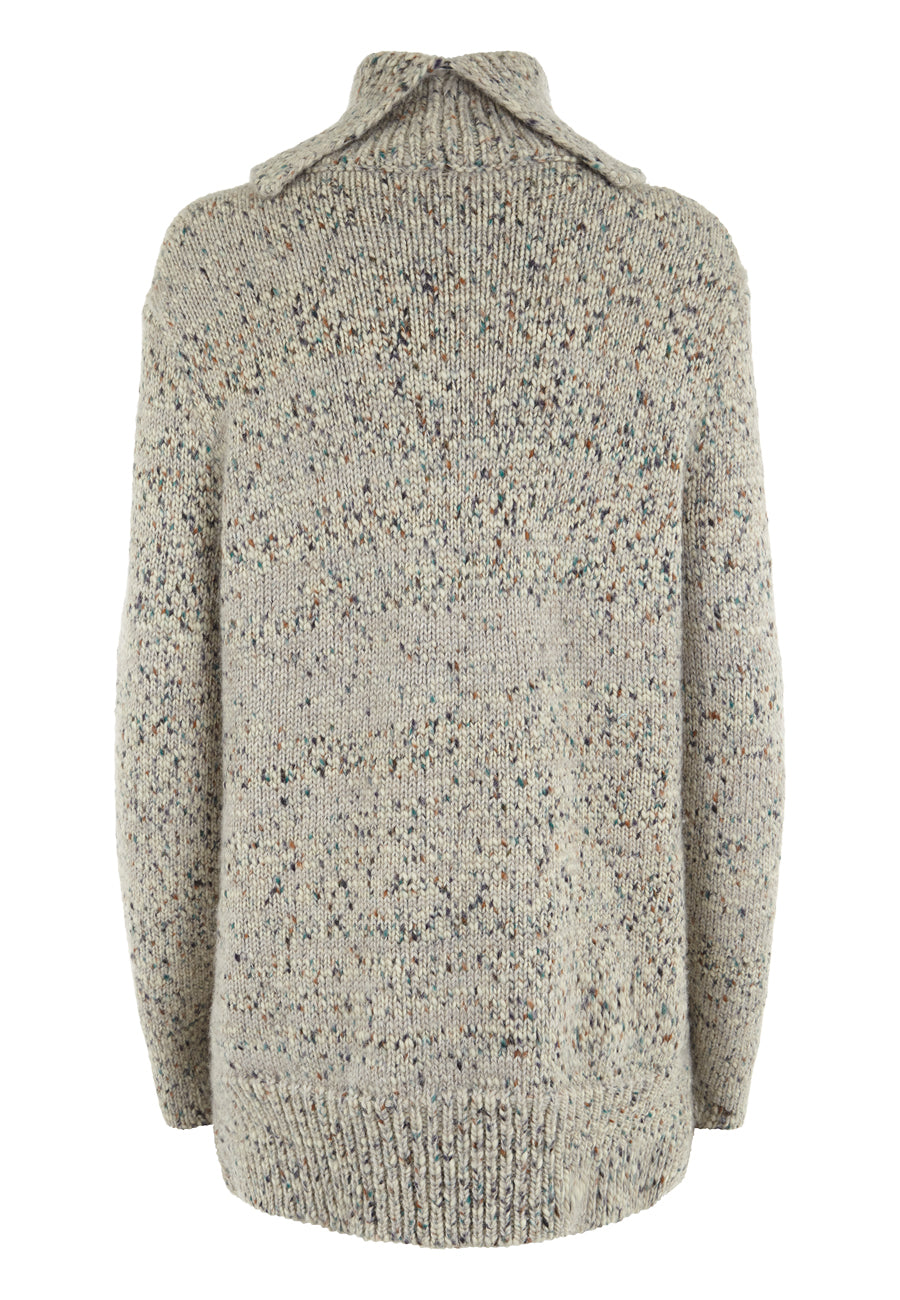 Ecru Tweed The Hales Jumper