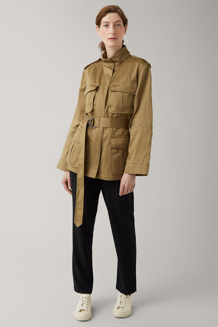 Army Green Clara Field Jacket