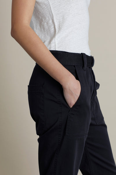 Black Vinnie Utility Trouser