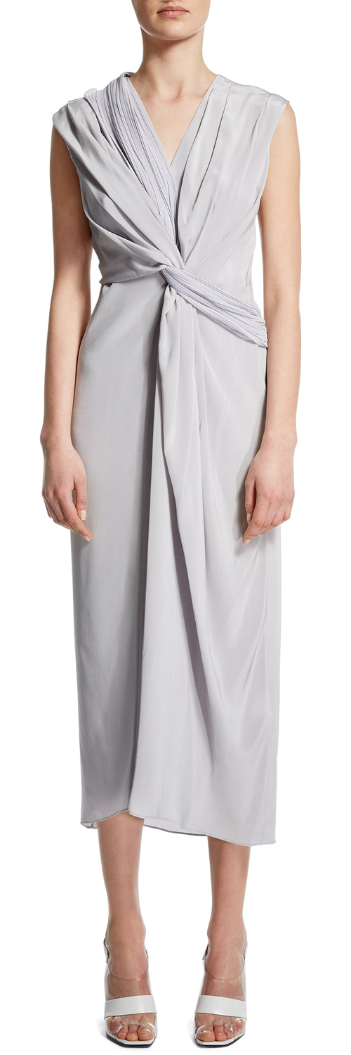 Cloud Drape Detail Dress