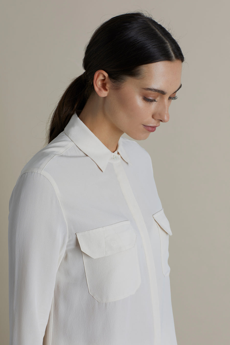 Nude Joe Military Silk Shirt