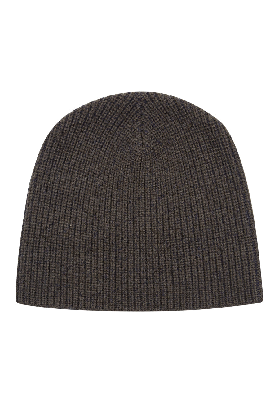 Charcoal/navy The Paley Rib Beanie