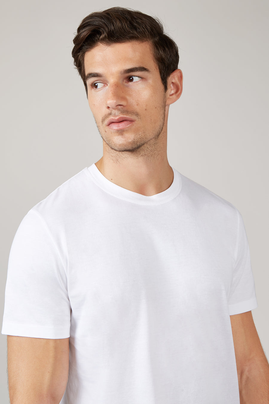 White David Cotton T-Shirt
