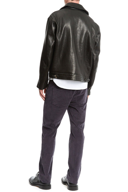 Lewis Leather Biker Jacket