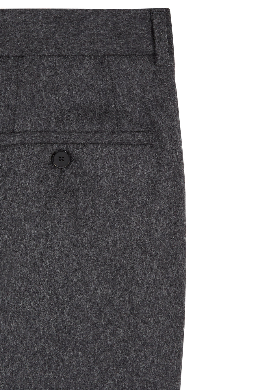Charcoal Perri Flannel Trouser Suit