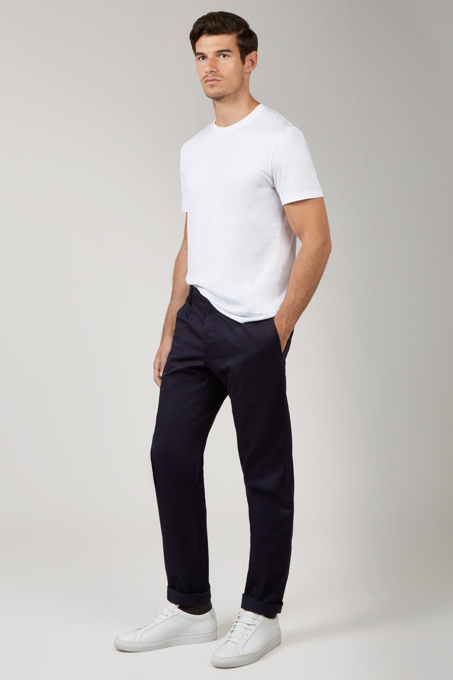 Navy Ray Chinos