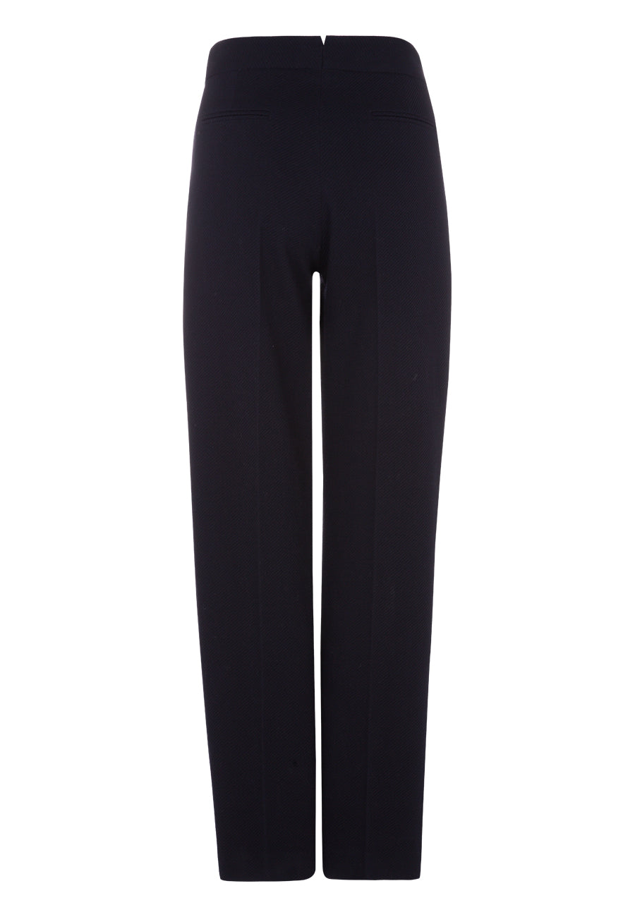 NAVY Tech Dril Pleat Pant