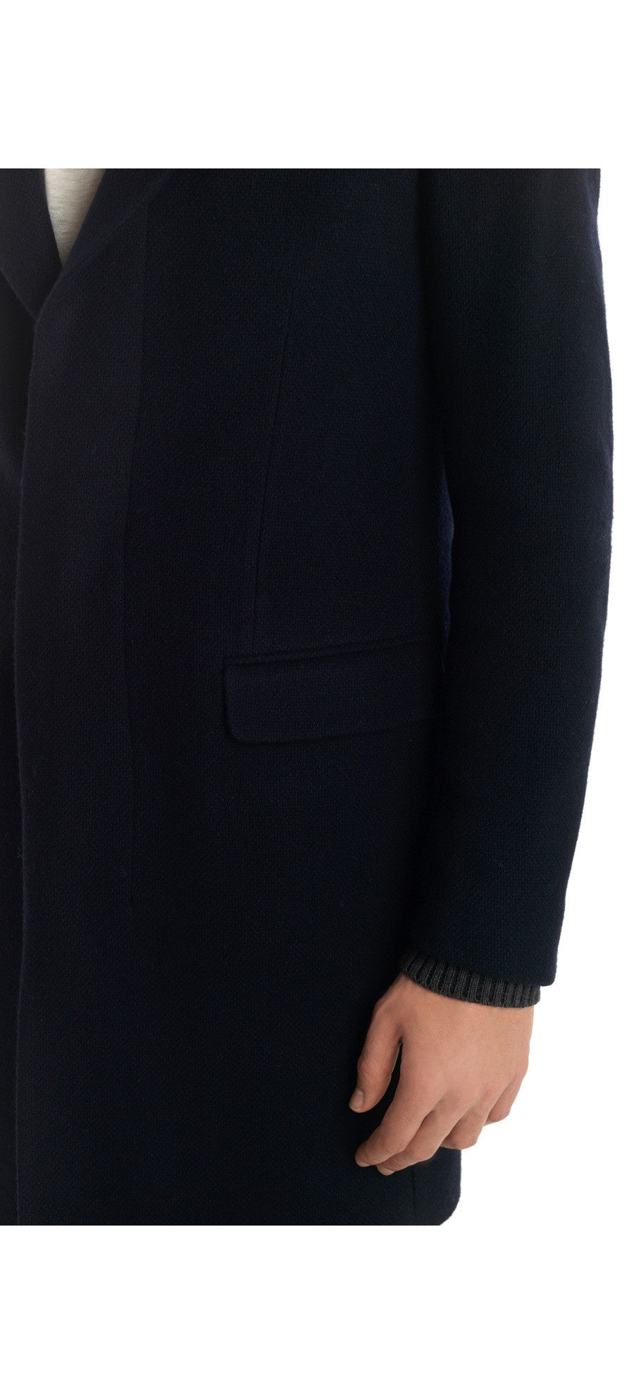 WIRTH NAVY COAT