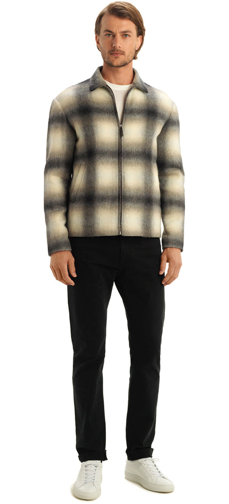 ANDRE CHECK SHIRT JACKET
