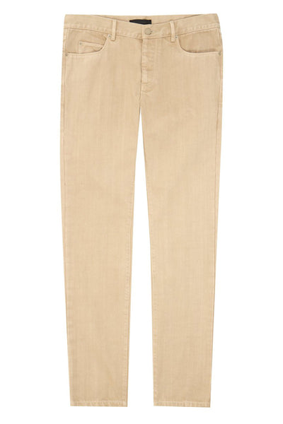 Stone Twill Cotton 5 Pockets Jean