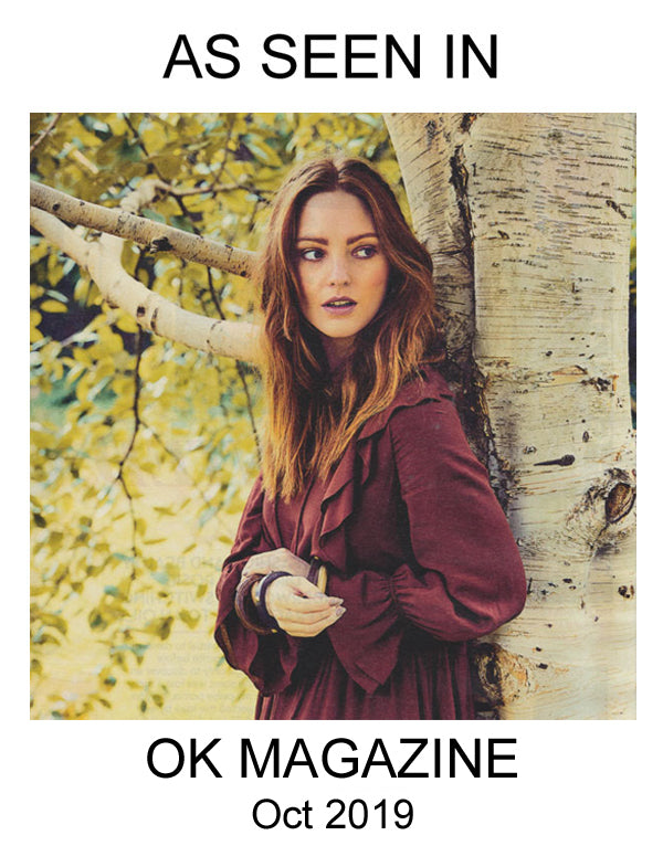 Branch jewellery bangle as seen in OK Magazine