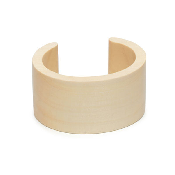 Branch Jewellery - White wood cuff