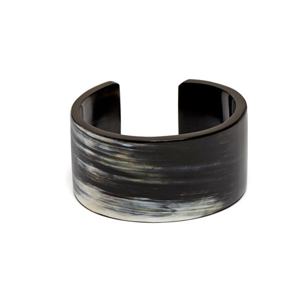 Branch jewellery - Natural buffalo horn cuff