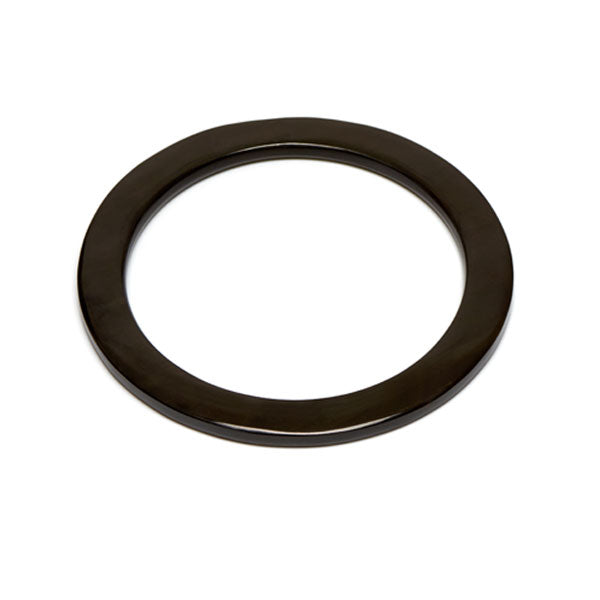 Branch jewellery - Black buffalo horn bangle