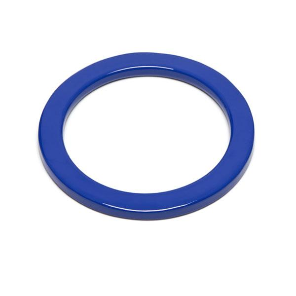 Branch jewellery - Blue buffalo horn bangle