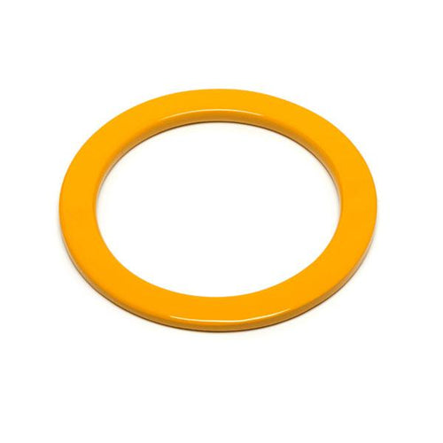 Branch jewellery - Yellow buffalo horn bangle
