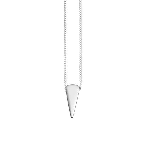 silver spike pendant