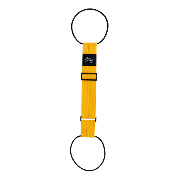 Stay Travel Belt - Yellow