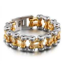 Men's Stainless Steel Chain Link Bracelets
