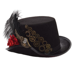 Vintage Steampunk Women's Hat
