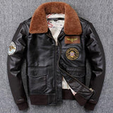 World War II Genuine Leather Pilot Jacket