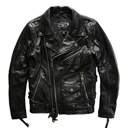 Genuine Leather Terminator Biker Jacket