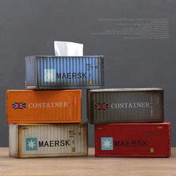 Shipping Container Tissue Boxes